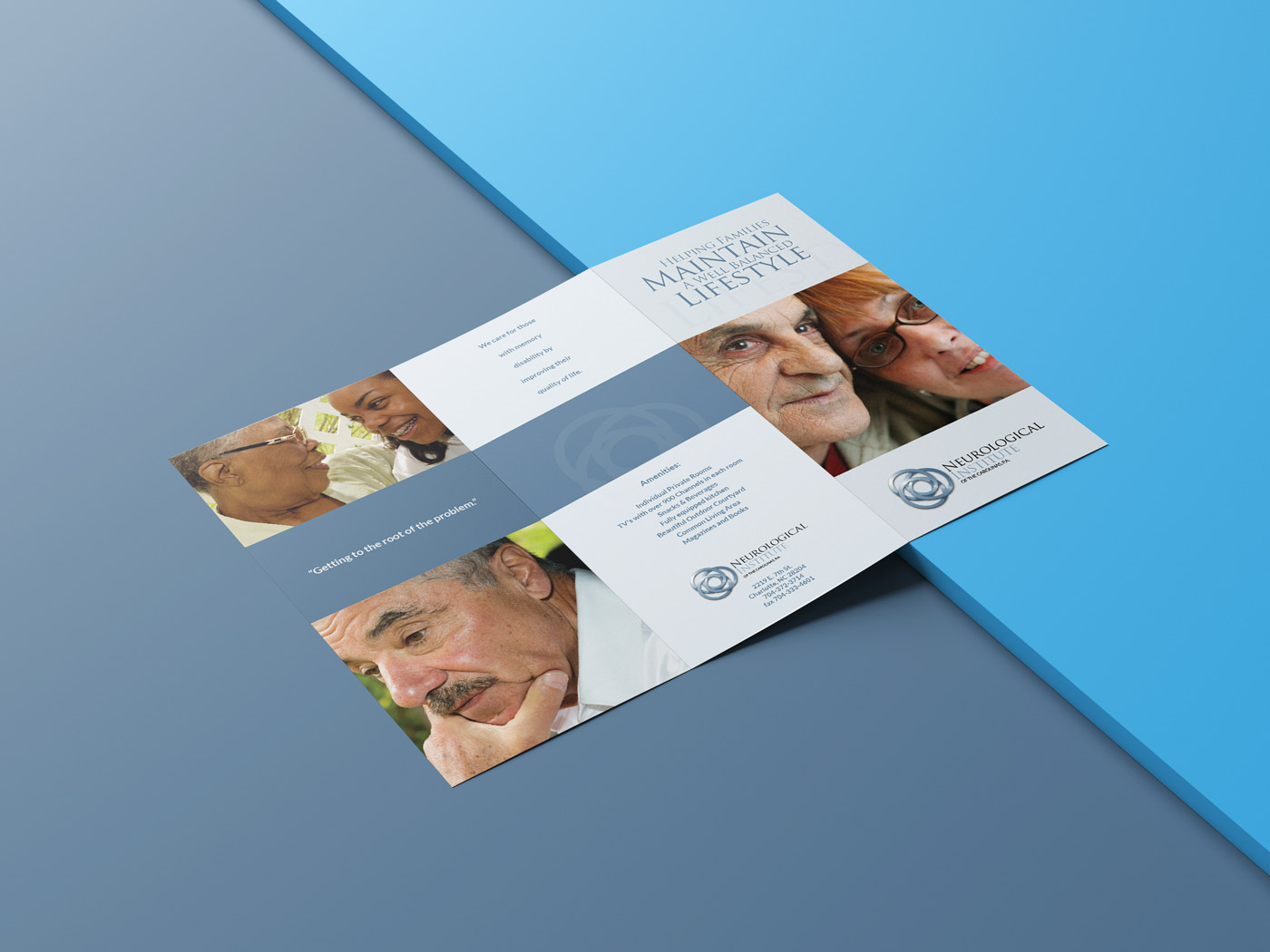 Neurological Institute Brochure Design