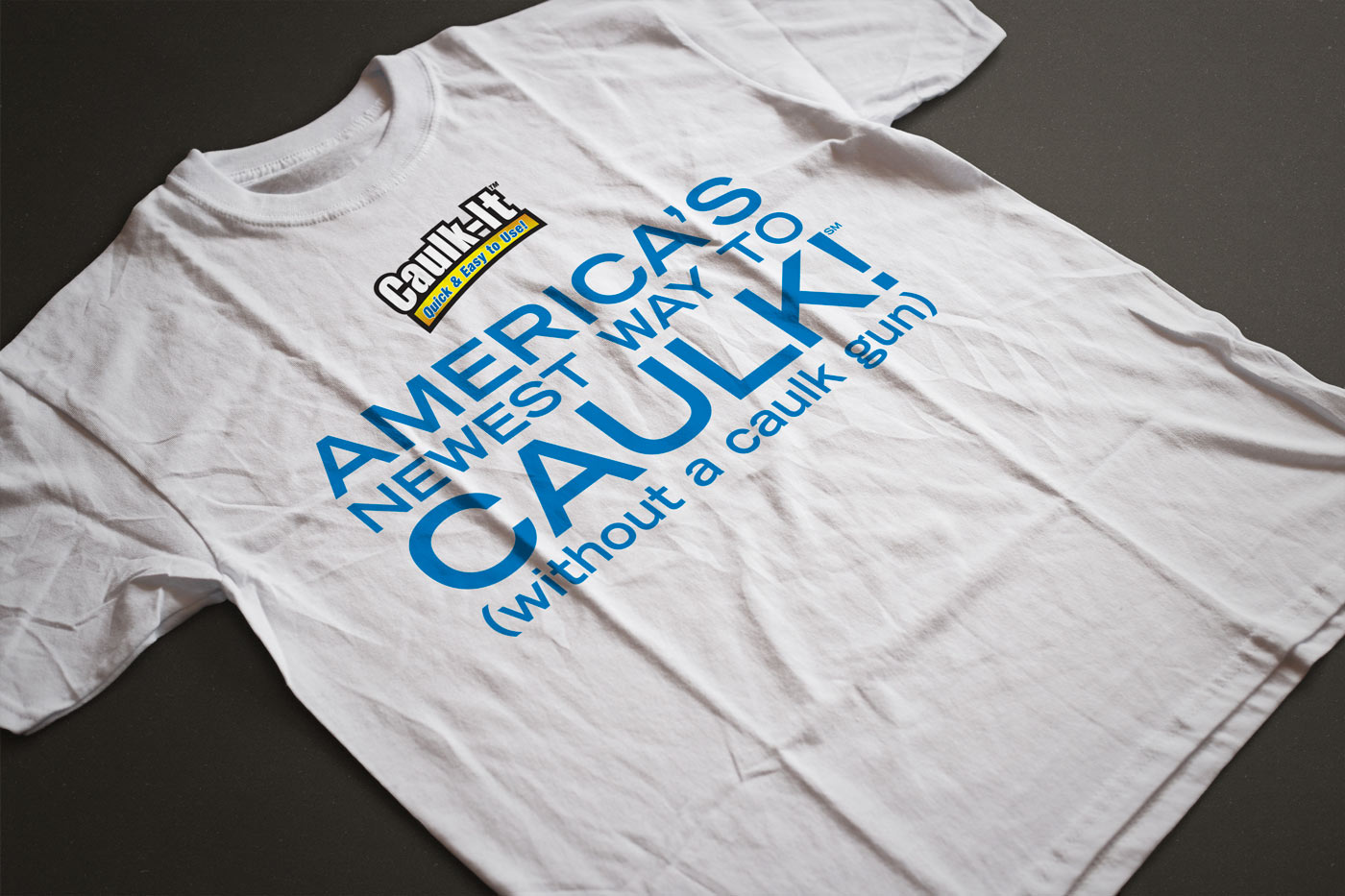 General Electric Caulk It T-Shirt Design