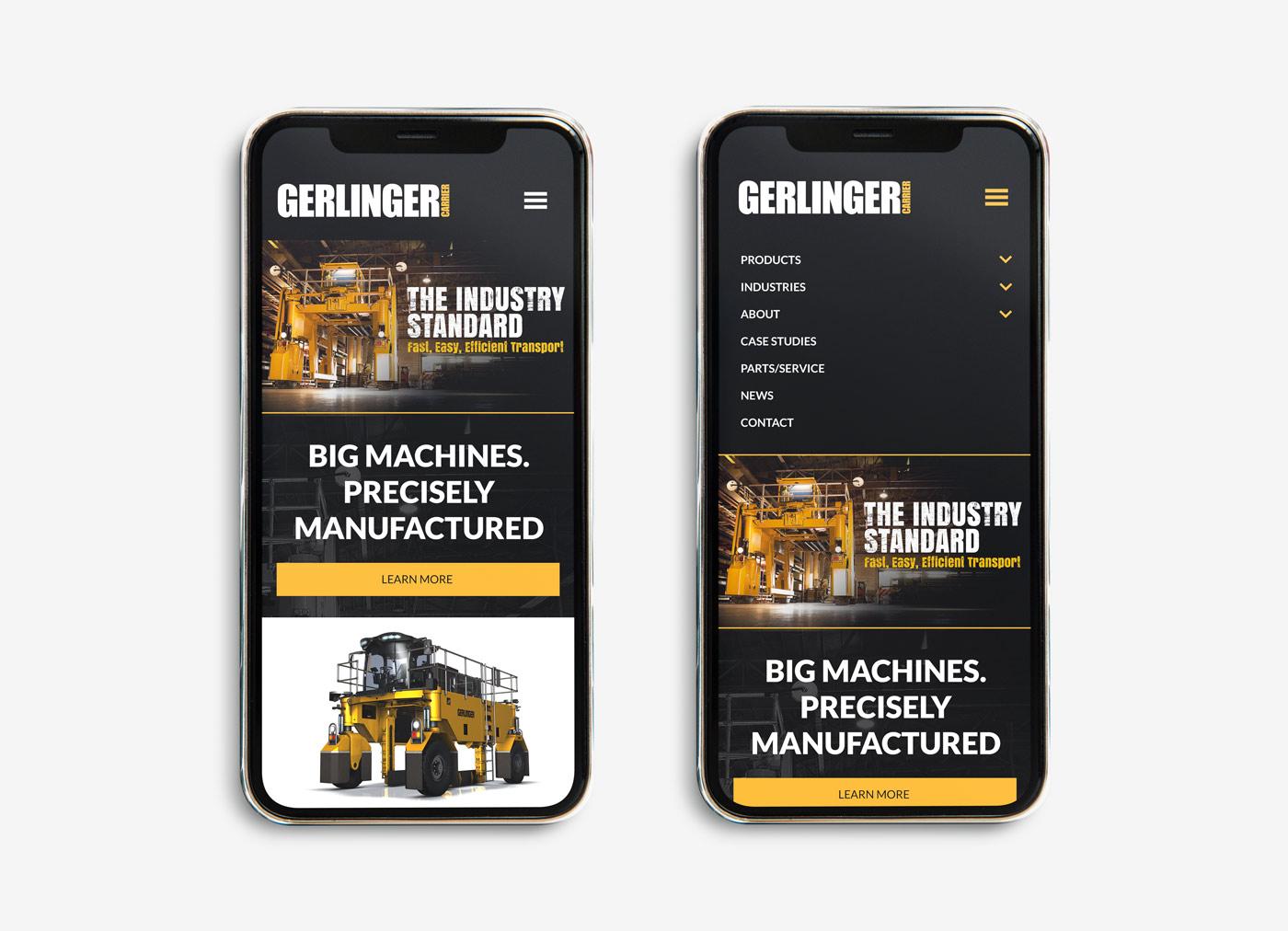 Gerlinger Carrier Website Design